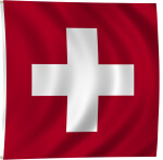 Flag of Switzerland, 1889-Present