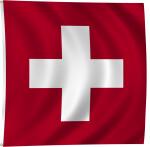 Flag of Switzerland, 1889-Present