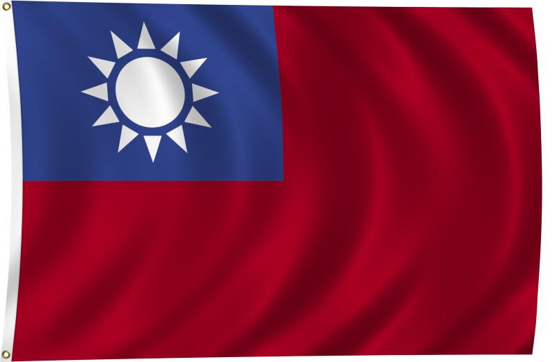 Flag of Taiwan, 2011