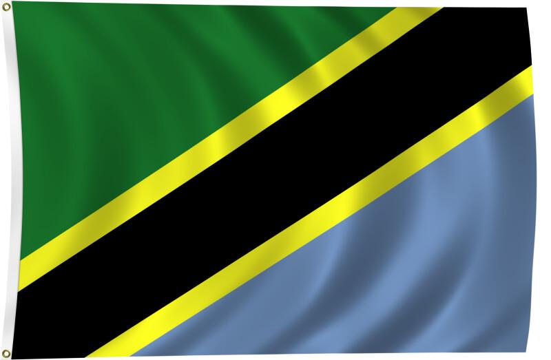 Flag of Tanzania, 2011