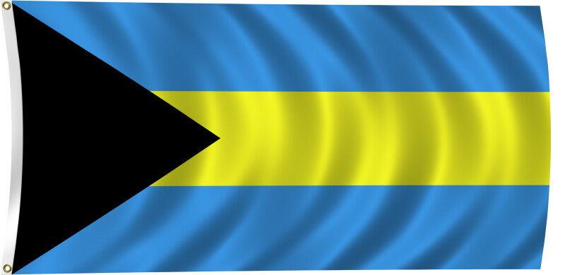 Flag of the Bahamas, 1973-Present