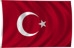 Flag of Turkey, 1844-Present