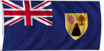Flag of Turks and Caicos Islands, 2011