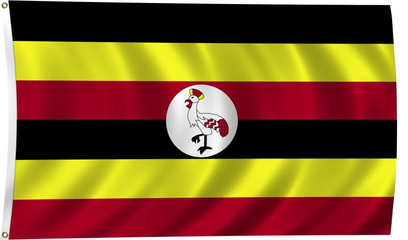 Flag of Uganda, 2011