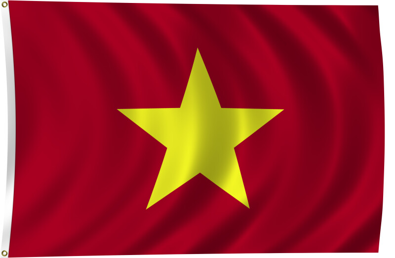 Flag of Vietnam, 1945-Present