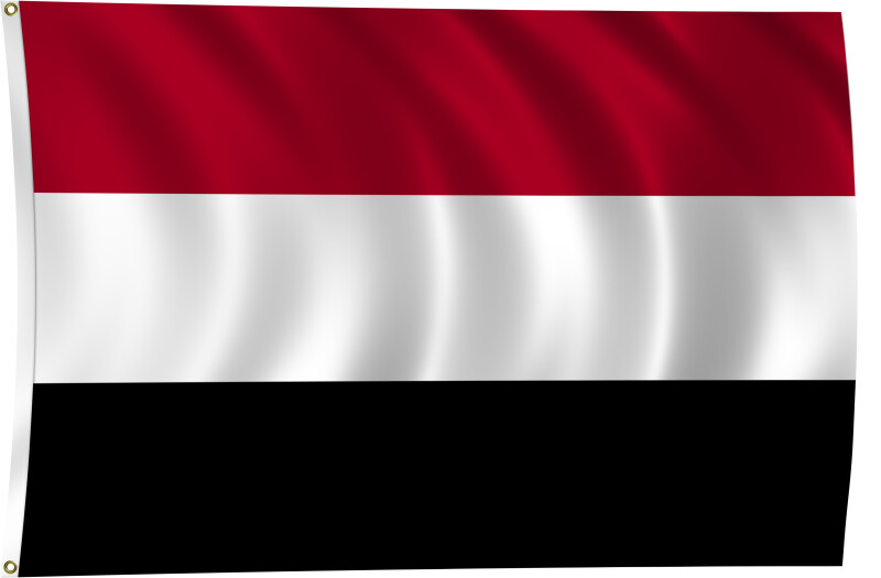 Flag of Yemen, 2011