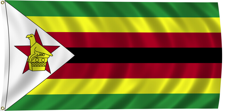 Flag of Zimbabwe, 2011