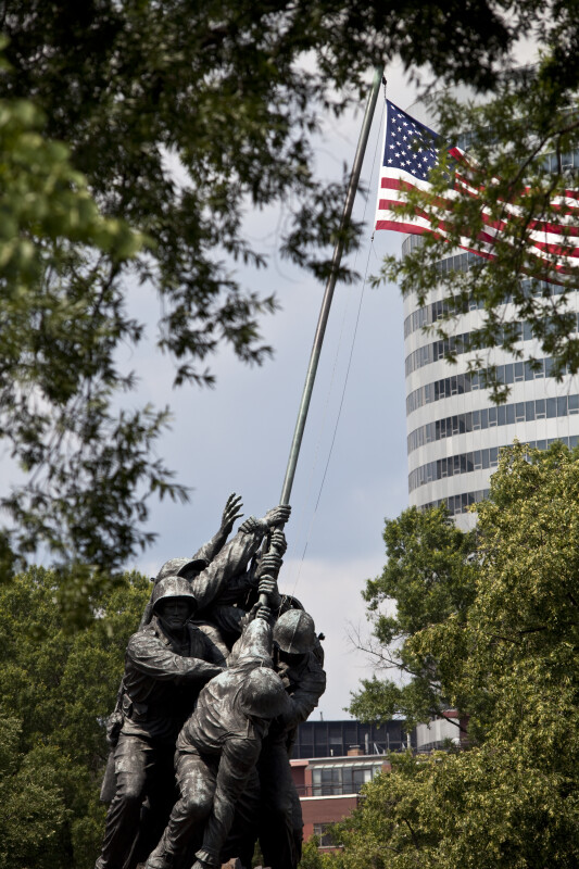 Flag Raising Statue, Arlington