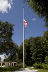 Flagpole and Flag