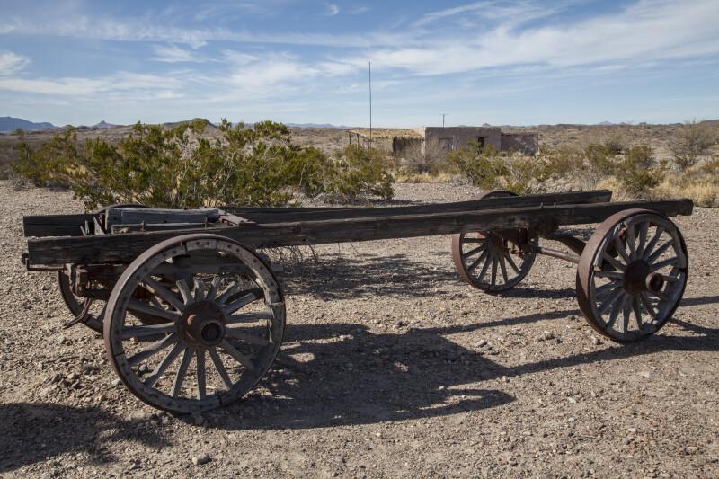 Flat Wagon at Castolon