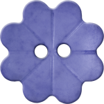 Floral Button with Eight Petals, Lavender