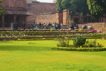 Floral Gardens in the Fatehpur Sikri Complex