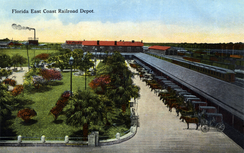 Florida East Coast Railroad Depot