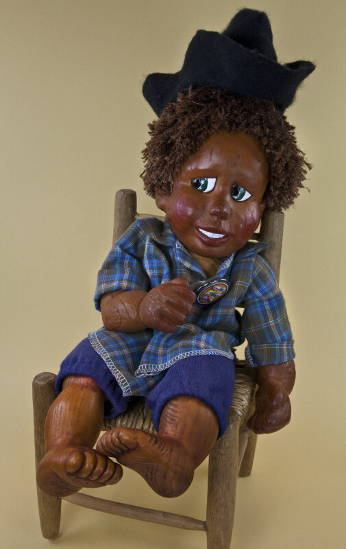 Florida Hand Made Boy Doll from Naber Doll Company in Homosassa (Full View)