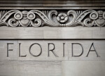Florida Inscribed on a Building