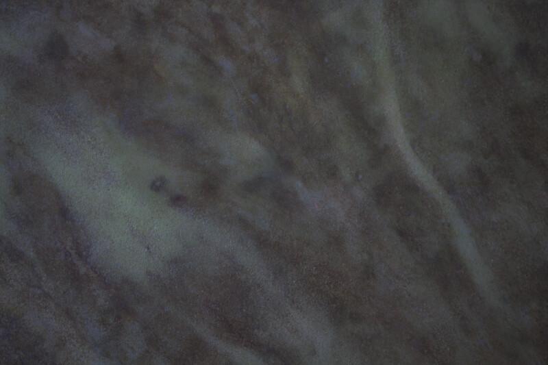 Flowing Cool Colors on a Concrete Floor