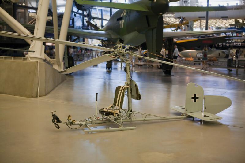 Focke-Achgelis Fa 330A Rotary Kite