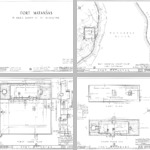 Fort Matanzas Architectural Drawings photographs