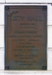 Foundation Stone of Tampa City Hall