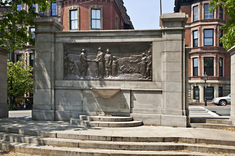 Founders' Memorial at Boston Common