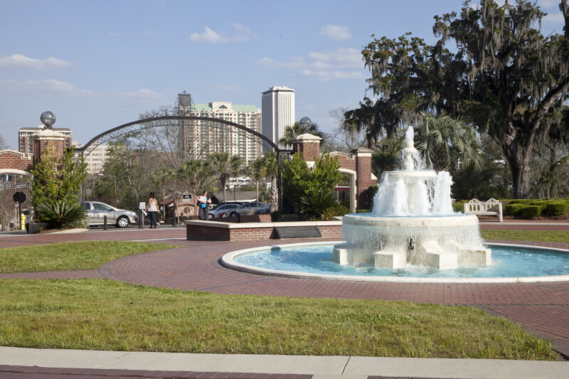 Fountain at FSU