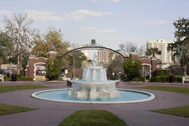 Fountain at FSU