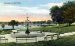 Fountain at Lake Eola