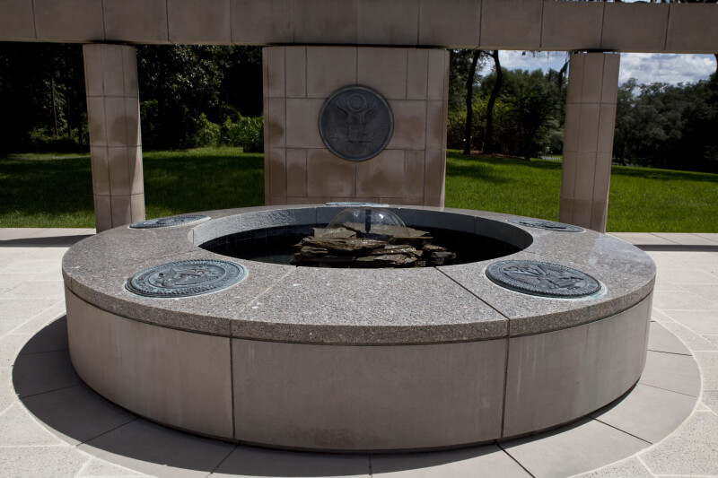 Fountain at Memorial