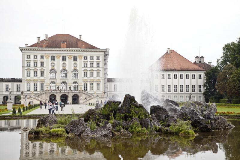 Fountain at Nymphenburg