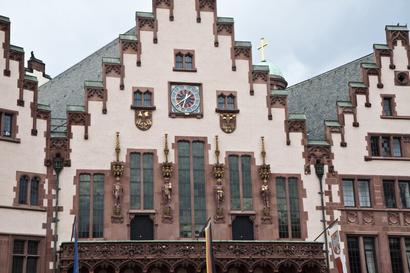 Frankfurt Building Façade