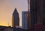 Frankfurt Skyline in Evening