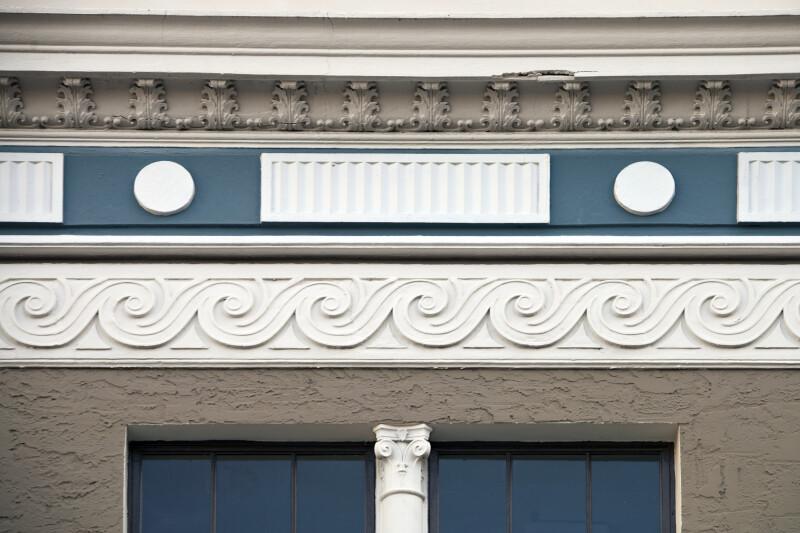 Frieze Courses on a Building