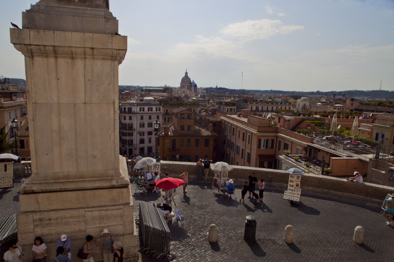 From the Top of the Spanish Steps