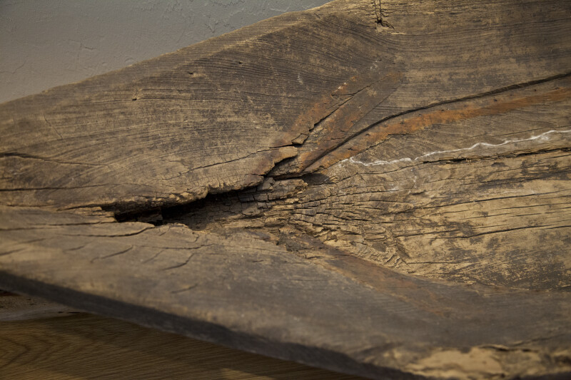 Front of a Dugout Canoe