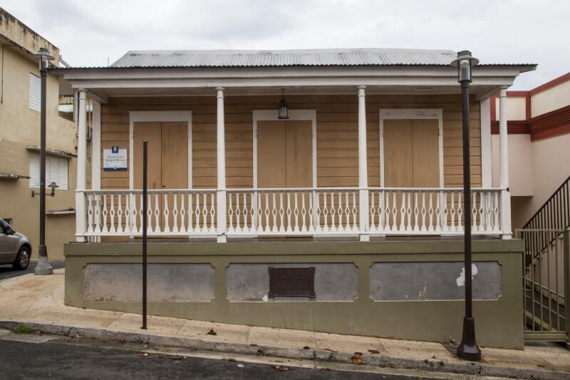 Front of Luis Muñoz Rivera Birthplace