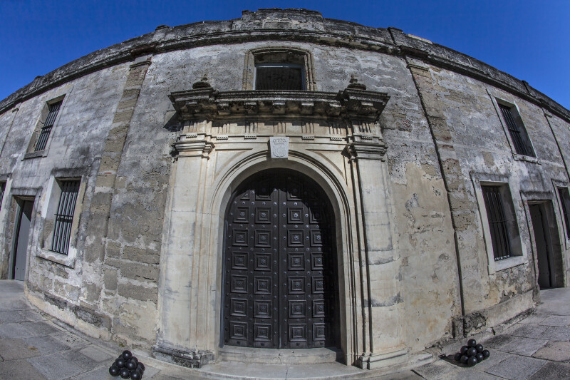 Front of the Chapel at Castillo de San Marcos