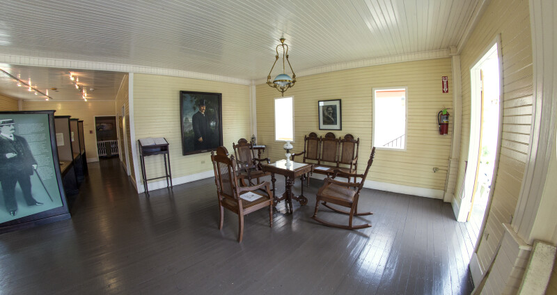 Front Room of Luis Muñoz Rivera Home