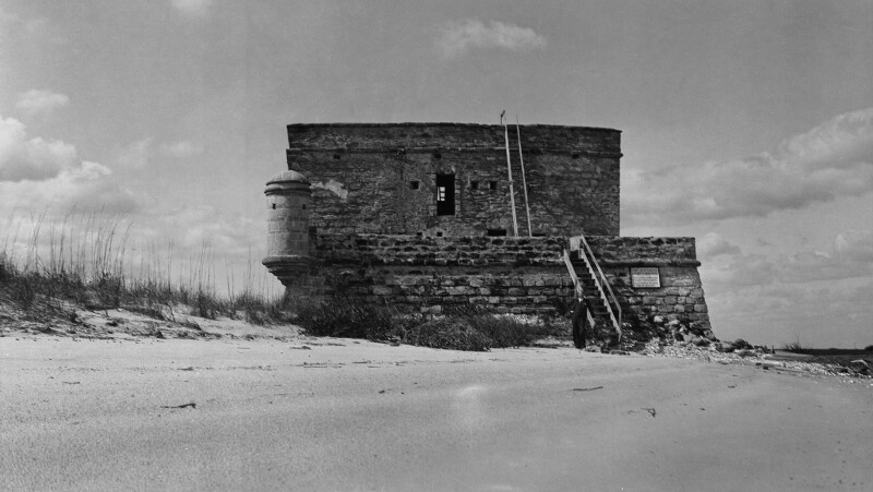Front View of Fort Matanzas
