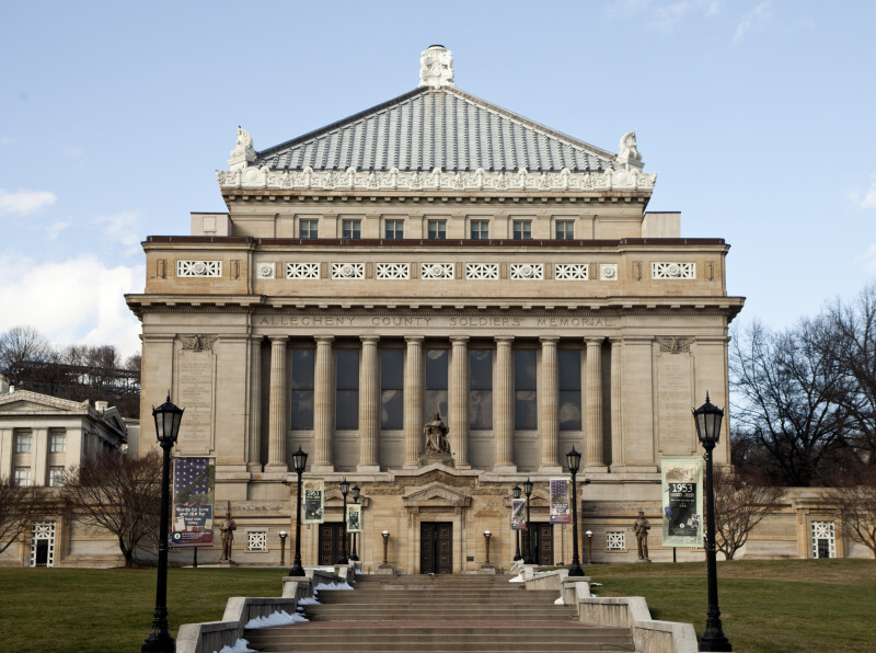 Front View of the Soldiers and Sailors' Memorial Hall