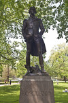 Full View of the Tadeusz Kościuszko Statue at the Boston Public Garden