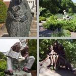 Garden Statues photographs