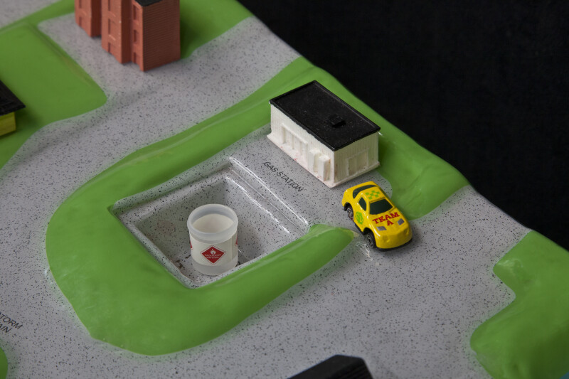Gas Station of the Watershed Model