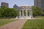 Gazebo at Boston Common