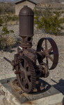 Gear and Crank Device at Castolon