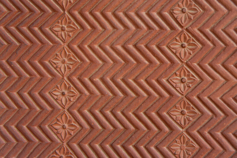 Geometrical Patterns in Red Sand Stone