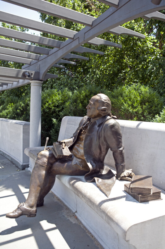 George Mason Seated
