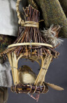 Germany Wooden Bird Houses Made with Bamboo (Bird House)