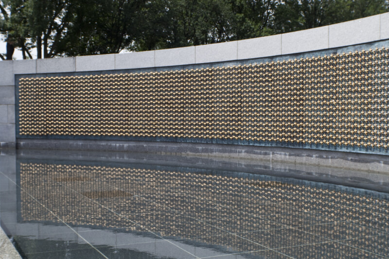 Gold Stars on Wall