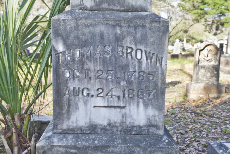 Governor Brown Lies Here