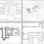 Gran Quivira Survey Drawings photographs